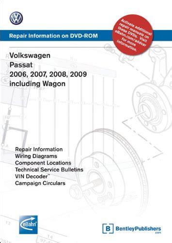 how to download repair manuals 2008 volkswagen passat electronic valve timing volkswagen passat 2006 2007 2008 2009 includes wagon repair manual on dvd rom windows 2000