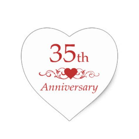 35th Wedding Anniversary by 35th Anniversary For Gifts On Zazzle