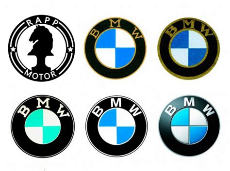 Why is BMW's emblem blue and white?   Quora