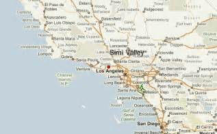 map of simi valley california simi valley location guide