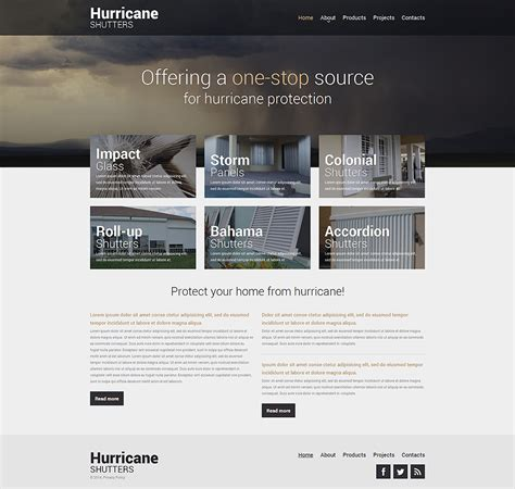 home remodeling responsive website template 48810
