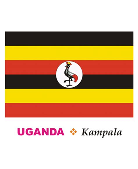 coloring page uganda flag uganda flag coloring pages for kids to color and print
