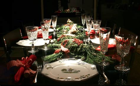 christmas dinner table settings decorating ideas for your holiday table specialfork s blog