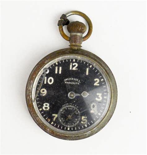 early 1900 s ingersoll radiolite pocket