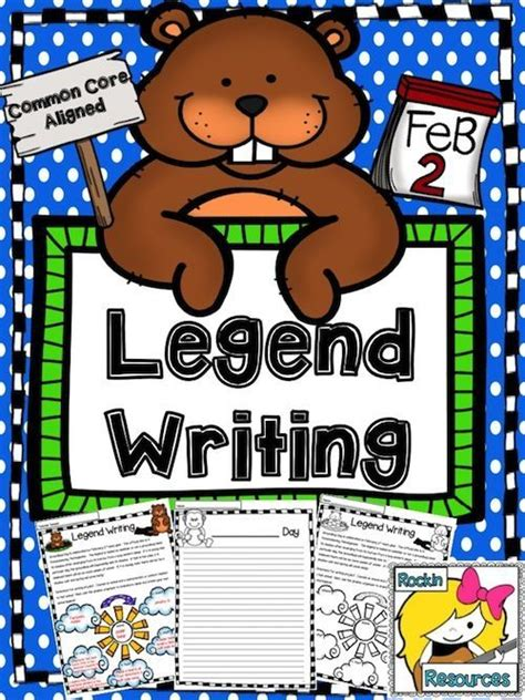 groundhog day legend writing legends template and student