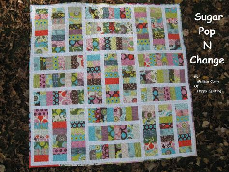 Moda Bake Shop Quilt Patterns by Sugar Pop N Change Quilt 171 Moda Bake Shop
