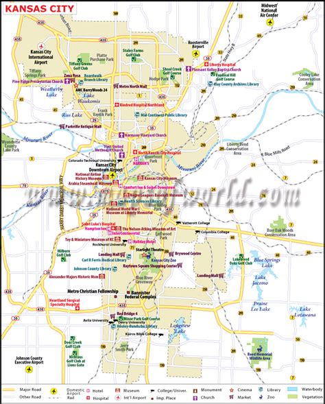 kansas city missouri map usa kansas city plaza printable map 2017 printable calendar