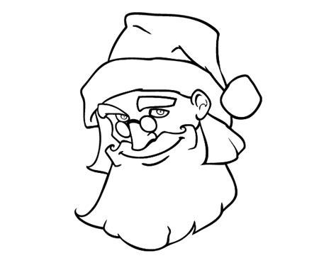 dibujo de cara de pap 225 noel para colorear dibujos net dibujo de la cara de pap 225 noel para colorear dibujos net