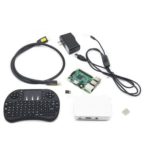 raspberry pi kit raspberry pi 3 media center kit for kodi