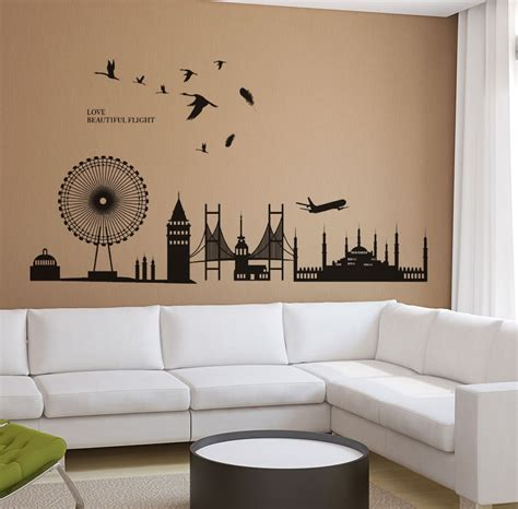 wallpaper for walls flipkart new way decals wall sticker scenic wallpaper price in