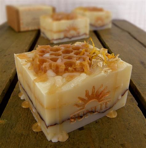 Handmade Artisan Soap - handcrafted artisan soap large 8 oz grande honey creme