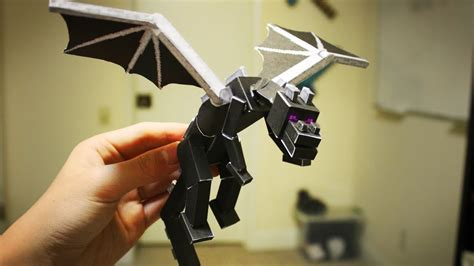How To Make A Paper Enderman - how to make a paper ender