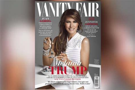 Vanity Fair Uk Editor by Melania On Cover Of Vanity Fair Is A