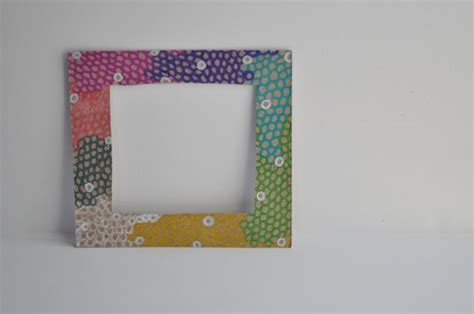 How To Make A Paper Photo Frame - 22 diy cardboard picture frames guide patterns