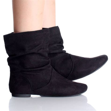 flat ankle shoes image gallery flat ankle boots