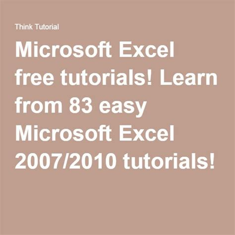 learn microsoft excel 2010 pdf best 25 microsoft office ideas on pinterest computer