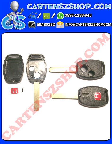 Baru Casing Kunci Remote 2 Tombol Honda City Mobilio Freed Dll baru casing kunci model standar dan model flip key mobil honda