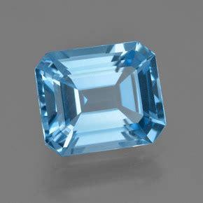 Swiss Blue Topaz 12 33 Carat blue topaz 7 3 carat octagon emerald cut from brazil