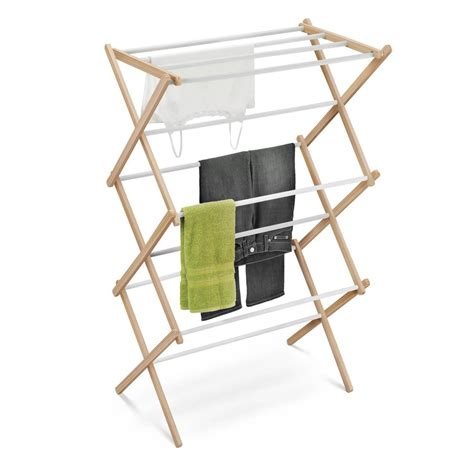 Home Power Drying Rack by Honey Can Do Accordion Drying Rack In Wood Vinyl
