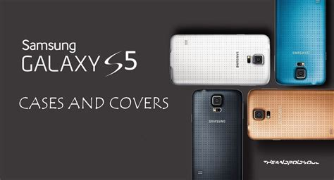 best galaxy s5 accessories best samsung galaxy s5 cases and covers roundup