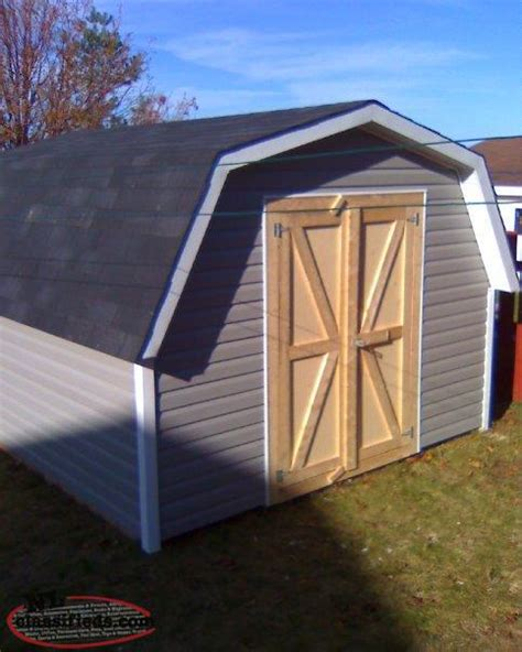 Newfoundland Shed by Custom Quality Built Sheds Barns And Garages St