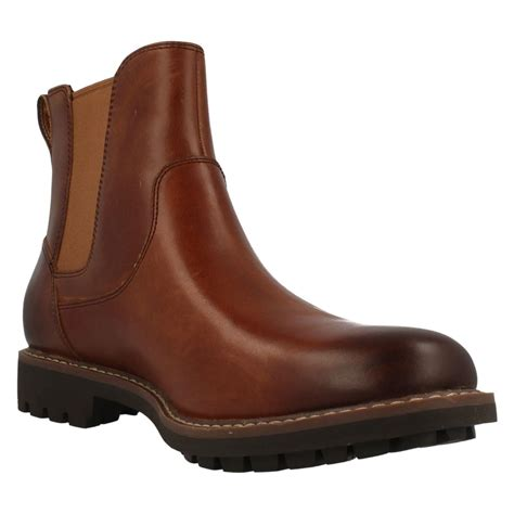 best mens boots for mens clarks chelsea boots montacute top ebay