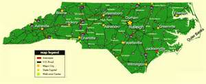 best photos of nc county major cities map nc map
