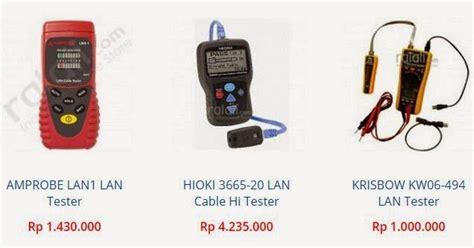 Multitester Merk Fluke daftar harga lan tester kabel rj45 agen fluke indonesia