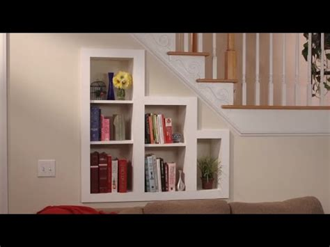 hidden storage   stairs bookcase youtube