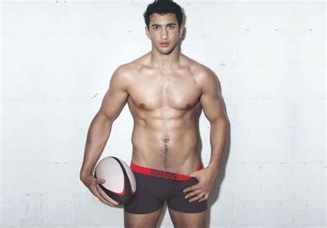 se nu léon the professional maxime mermoz sexy rugby player dim underwear video