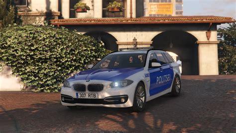 Mod Bmw Gta 5 by Estonian Politsei Bmw 5 Series Gta5 Mods