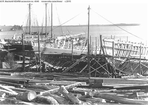 boat insurance halifax hulls of fishing schooners being built maritime national