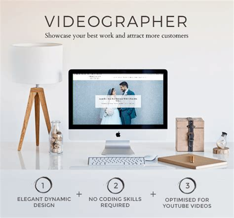 tumblr themes for videographer videographer video production wordpress theme by