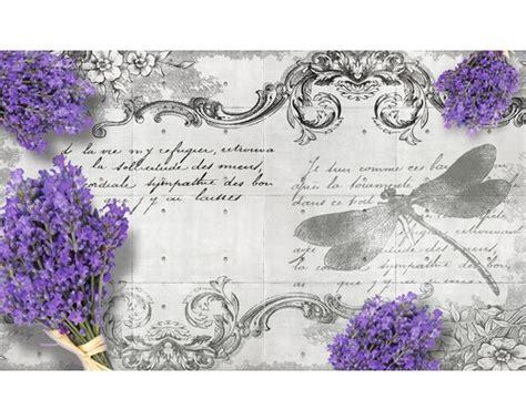 Lavendel Bestellen 499 by Fototapete 1799 Vexxxl Vlies Lavendel Und Libelle 416 X