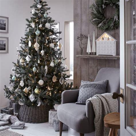 christmas colour themes uk choinka w jednym kolorze ładne rzeczy