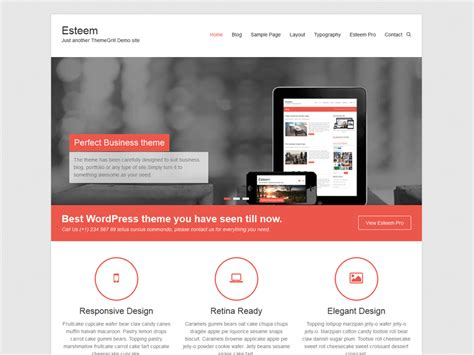 templates for wordpress website templates de wordpress 145 temas gratuitos para o seu blog