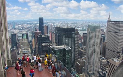 observation deck top of the rock panoramio photo of top of the rock observation deck
