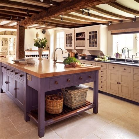 traditional kitchen islands purple kitchen designs pictures and inspiration