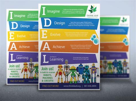 design poster program children s educational program poster design digital lion