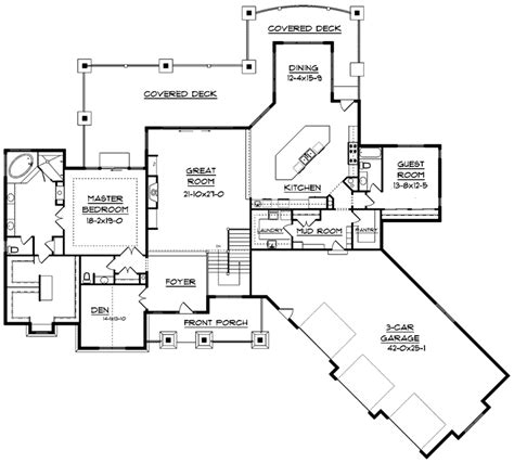 floor plans for mountain homes dallin mountain home plan 101s 0018 house plans and more