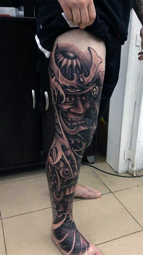 full leg tattoo designs 50 samurai designs for noble japanese warriors