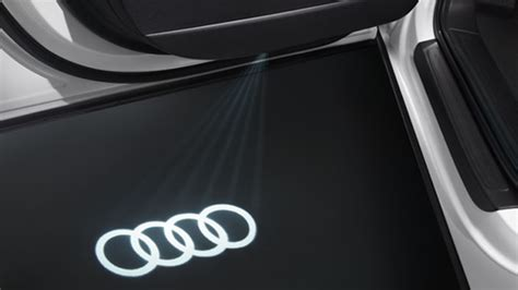 audi rings door light led audi rings for entry area 4g0052133a gt audi genuine
