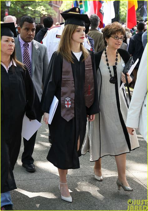 emma watson graduation daydream stars emma watson becomes an official brown