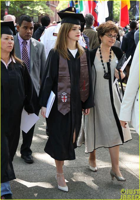 emma watson graduation daydream stars emma watson becomes an official brown
