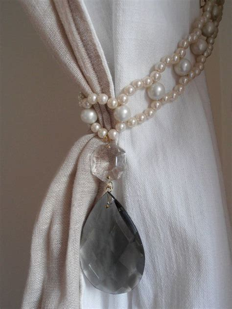 drapery holders 1000 ideas about curtain ties on pinterest curtain tie