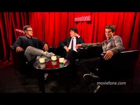 the social cast unscripted with the social network cast youtube