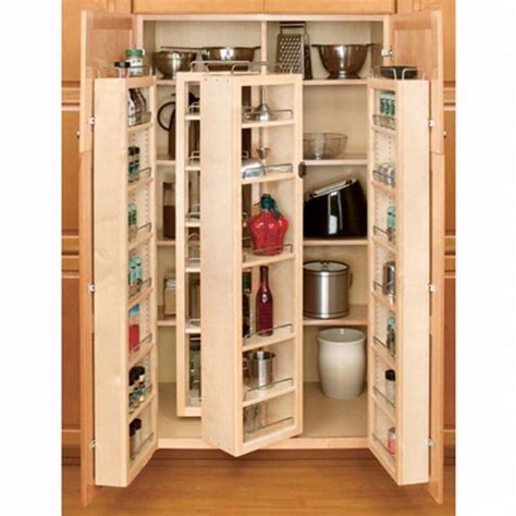 kitchen cabinet shelving systems swing out complete pantry system rev a shelf 4w series