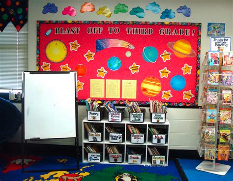 space themed classroom decorations sports themed classrooms clutter free classroom