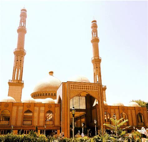 desain sepeda masjid kubah grc masjid haji abdul rahman di afghanistan