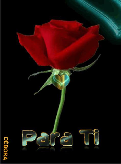 imagenes rosas gif gif animados de rosas rojas y corazones
